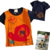 children's t-shirt 100% cotton for export
