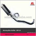 Monkey Bike Muffler Exhaust