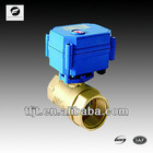 "TF-CWX 2-way 1"" solar hot water mini solenoid ball valve for water treatmen system"