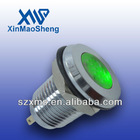 12mm momentary metal stainless steel led indicator lamp