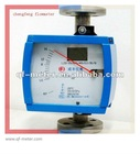 stainless steel metal tube gas liquid rotameter flowmeter