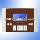 106 zones GSM color LCD intruder alarm system with keypad