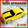 Chevrolet Camaro portable car speaker with USB flash and TF card