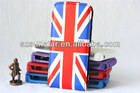 New arrival flag patterns leather for iphone 5 case