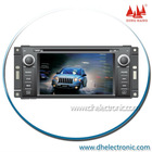 DH-6209F Factory supply 6.2 inch Touch Screen 2Din DVD Player with GPS Navi/Bluetooth/Ipod/FM/AM/RDS for JEEP COMPASS