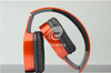 2.4Ghz digital wireless headphones headsets earphones red color with USB transmitter interface