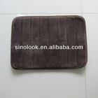 2D300 100% Polyester Anti-skid Non-slip Bathroom Floor Mat
