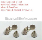 conical rivet