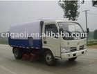 Road sweeper truck