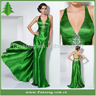 2013 Nobe Halter Open Back Beaded Taffeta Mermaid Evening Dresses