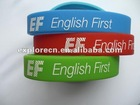 colorful silicone rubber bracelets/wristband