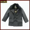 high quality boys clothes coats winter clothes with fur neck