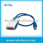 USB 3.0 to VGA Graphics Adapter HD 2048*1152