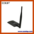 300Mbps Wireless LAN Adapter 6dbi Antenna Card -King WiFi 802.11g/b/n adapter high power lan card