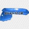 Blue snow sledge with EN71 certification