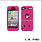 Wholesale Price For iPhone 5G 3 in 1 Hybrid Front/Back Soft Plastic Combo Cover Case