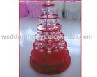 wedding decoration candleholder & wedding champagne glass