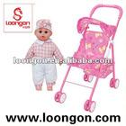 Loongon Doll Stroller doll pram girl toys