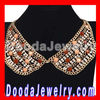 2013 Crystal Resin Rhinestone Choker Collar Bib Necklaces Wholesale JW0107
