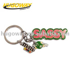 2012 custom design letter Key Chain