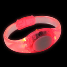 New popular led silicone wristbands