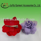feather flower silk flower corsage brooch