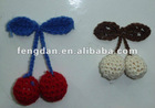 lovly strawberry flower accessories suitable for shoes,hat,garment,hair accessories