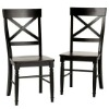 Antique Black Dining Chairs
