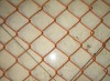 Orange Chain Link Fence, Stainless Steel Chain Link Fence