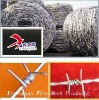 Professional barbed wire pvc coated