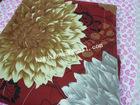 100% polyester flower printed fabrics