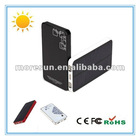 4000mAh Best dual USB portable mobile phone solar for ipad touch charger case