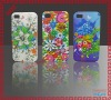 The hard platic bling print cellphone case for Iphone 4g/4gs