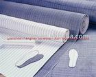 Non Woven Striate Insole board, Stripe insole board,non woven serge insole board