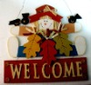 welcome door decoration