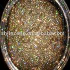 holographic golden glitter