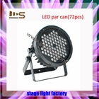 Extremely Hot Sale RGBW 72pcs x 1w led jewel light stage light