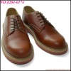 brown wholesale school shoes high quality lace up