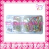 plastic hair accessories in blister card