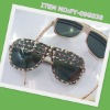 hot selling-plastic frame sunglasses