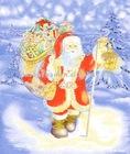 polar fleece christmas pattern blanket