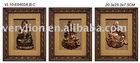 Wooden Shadow Boxes in buddha Design 3 asstd