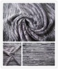T/R slub knitted yarn dyed fabrics t shirt knit fabric