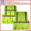 economic high visibility reflective safety vest with pockets