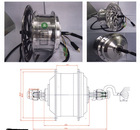 front electric bicycle BLDS motor 250w