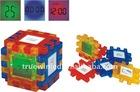 seven color changing calendar Magic Clock