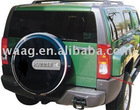 HM81074- Spare Tire Cover/Auto Tire Cover for Hummer H3 06-08