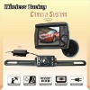 3.5 inch wireless Surveillance System with back up camera
