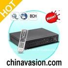 Dual-Stream 8 Channel DVR Security System (H.264, Free 1TB HDD)