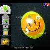 GSM mobile led light sticker